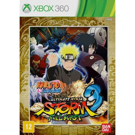 Naruto Ultimate Ninja Storm 3: Full Burst - Xbox 360 (usado)