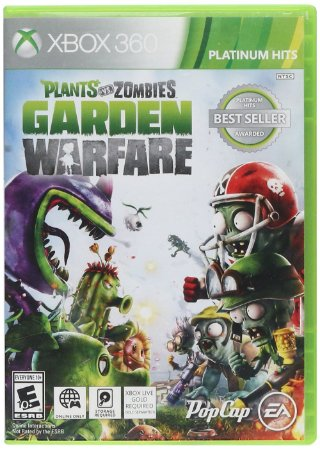 Plants Vs Zombies: Garden Warfare - Xbox 360 (usado)