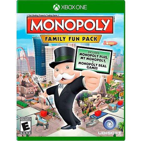 Monopoly: Family Fun Pack - Xbox One (usado)
