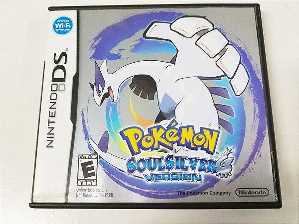 Pokemon Soul Silver Version - DS (usado)