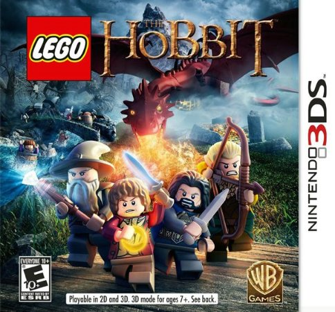 Lego: The Hobbit - 3DS (usado)