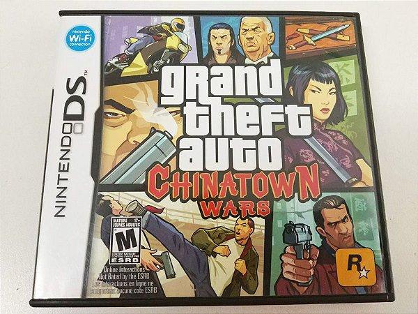 GTA: Chinatown Wars - DS (usado)