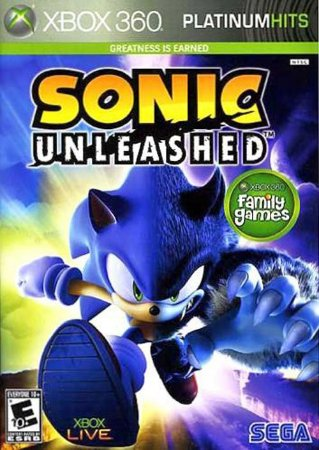 Sonic: Unleashed - Xbox 360