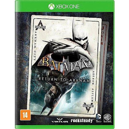 Batman: Return to Arkham - Xbox One (usado)