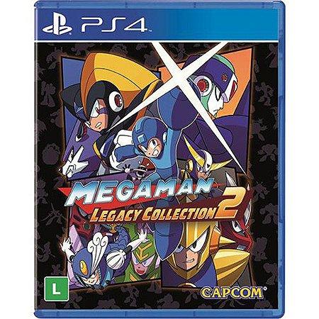 Megaman: Legacy Collection 2 - PS4 (usado)