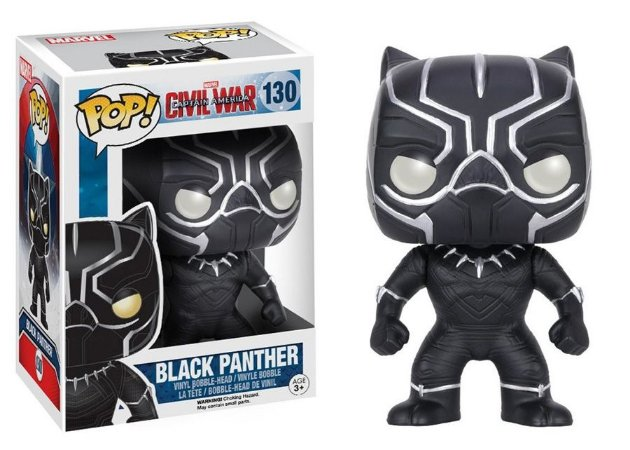 Black Panther: Civil War Bobble-Head - POP Funko 130