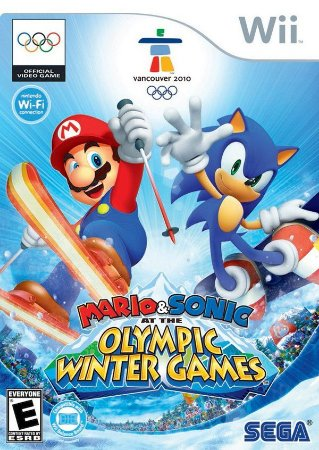 Mario & Sonic: At The Olympic Winter Games - Wii (usado)