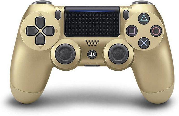 Controle PS4 Dualshock 4 Gold CUH-ZCT2G Japonês