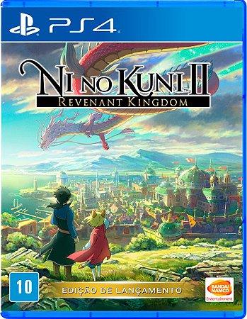 Ni No Kuni 2: Revenant Kingdom - PS4 (usado)