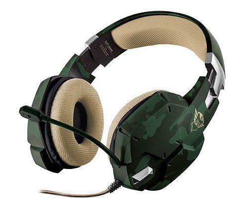 Headset Carus Jungle Camo Trust GXT-322C PC/PS4/XboxOne/Switch