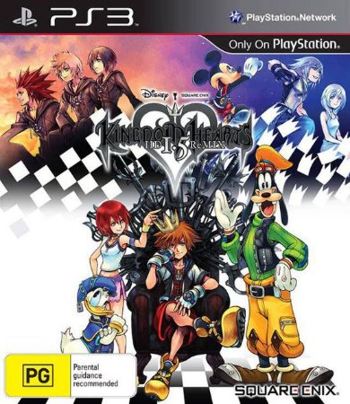 Kingdom Hearts HD 1.5 Remix - PS3 (usado)