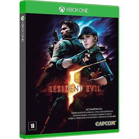 Resident Evil 5 - Xbox One (usado)