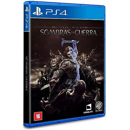 Terra Media: Sombras da Guerra - PS4 (usado)