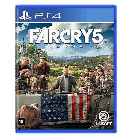 Far Cry 5 - PS4 (usado)