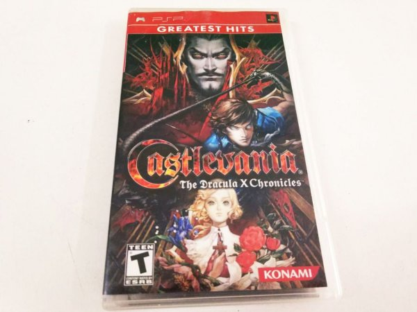 Castlevania: Dracula X Chronicles - PSP (usado)