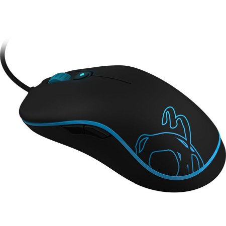 Mouse Neon Ozone Gaming Azul Laser 6400DPI USB