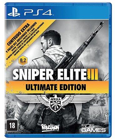 Sniper Elite 3: Ultimate Edition - PS4