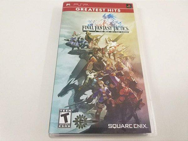 Final Fantasy Tactics: The War of The Lions - PSP (usado)