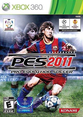 PES 2011: Pro Evolution Soccer - Xbox 360 (usado)