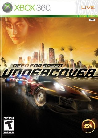 Need For Speed: Undercover - Xbox 360 (usado)