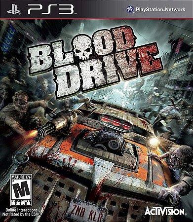 Blood Drive - PS3 (usado)