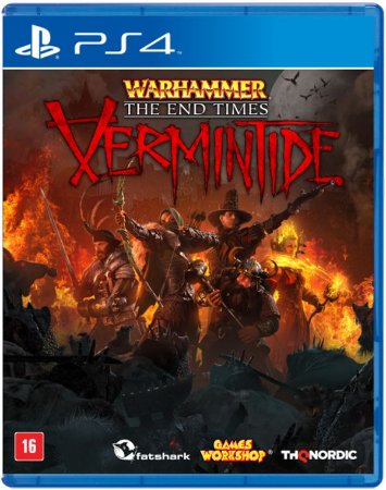Warhammer The End Times: Vermintide - PS4 (usado)