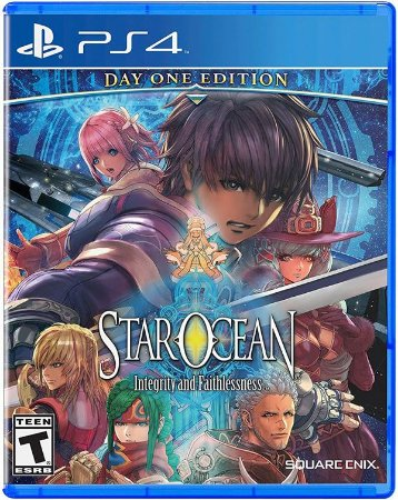 Star Ocean: Integrity And Faithlessness - PS4 (usado)