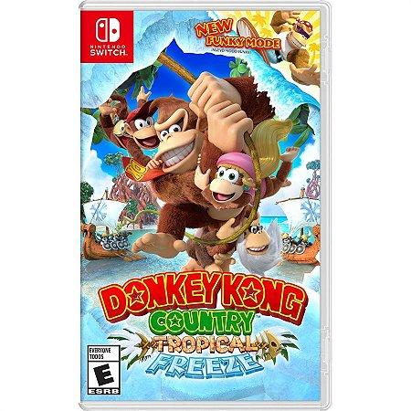 Donkey Kong Country: Tropical Freeze - Switch (usado)