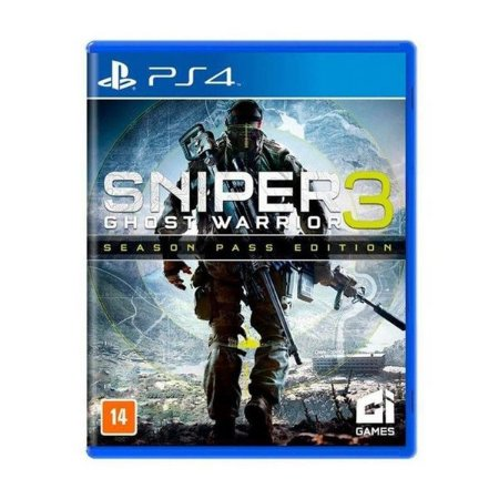 Sniper 3: Ghost Warrior - PS4 (usado)