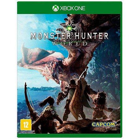 Monster Hunter: World - Xbox One (usado)