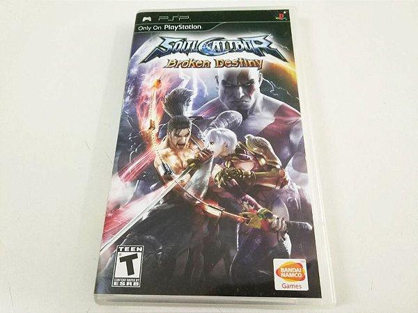 Soul Calibur: Broken Destiny - PSP (usado)