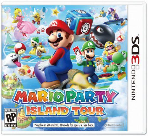Mario Party: Island Tour - 3DS (usado)