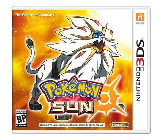 Pokemon Sun - 3DS (usado)