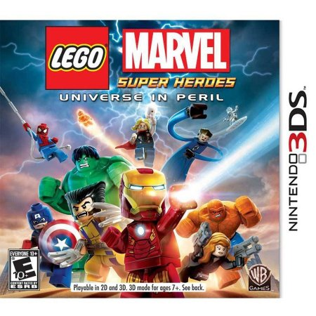 Lego Marvel Super Heroes: Universe In Peril - 3DS (usado)