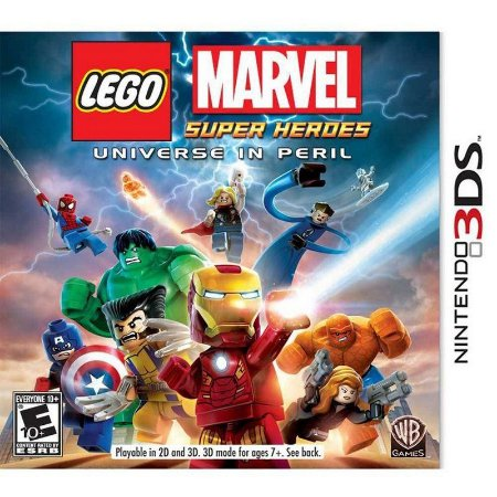 LEGO MARVEL SUPER HEROES - UNIVERSE IN PERIL USADO (3DS)