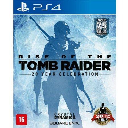 Rise of The Tomb Raider: 20 Year Celebration - PS4 (usado)