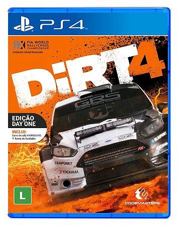 Dirt 4 - PS4 (usado)