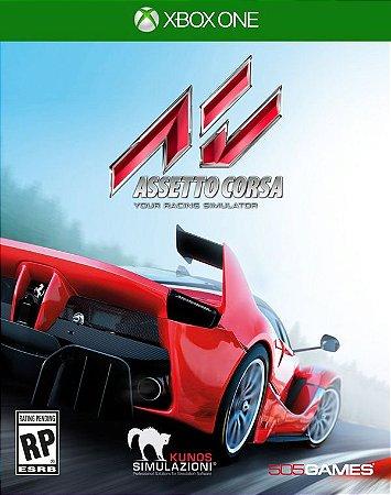 Asseto Corsa: Your Racing Simulator - Xbox One (usado)