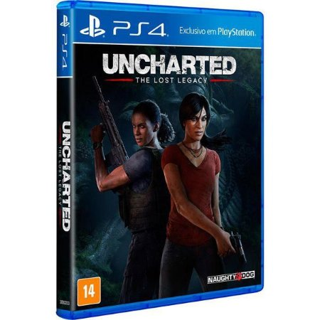 Uncharted: The Lost Legacy - PS4 (usado)