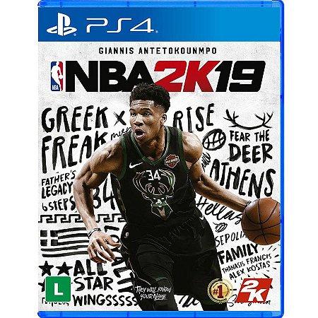 NBA 2K19 - PS4 (usado)