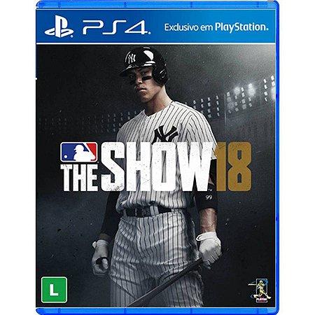 MLB The Show 18 - PS4 (usado)