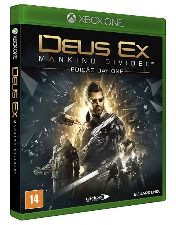 Deus EX: Mankind Divided - Xbox One (usado)