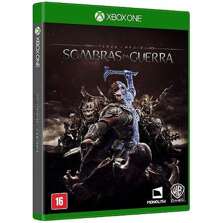 Terra Media: Sombras da Guerra - Xbox One (usado)