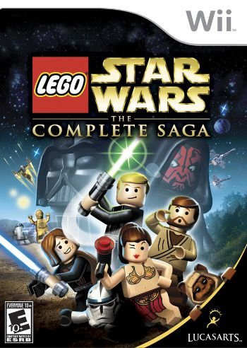 Lego Star Wars: The Complete Saga - Wii (usado)