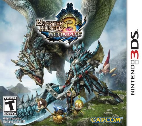 Monster Hunter 3 Ultimate - 3DS (usado)