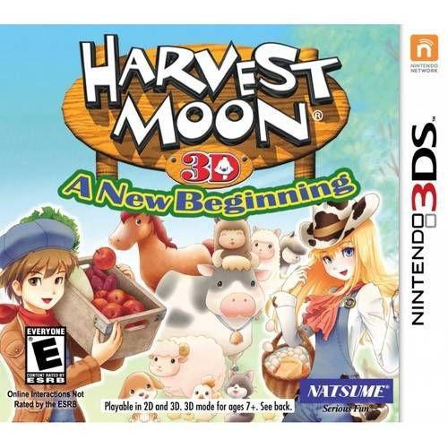 Harvest Moon 3D: A New Begenning - 3DS (usado)