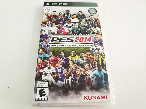 PES 2014: Pro Evolution Soccer - PSP (usado)