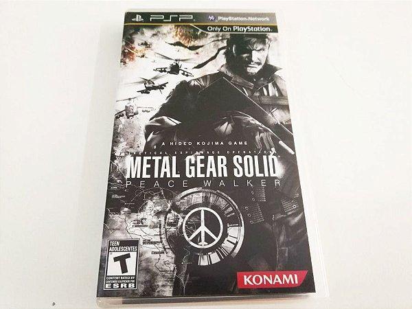 Metal Gear Solid: Peace Walker - PSP (usado)