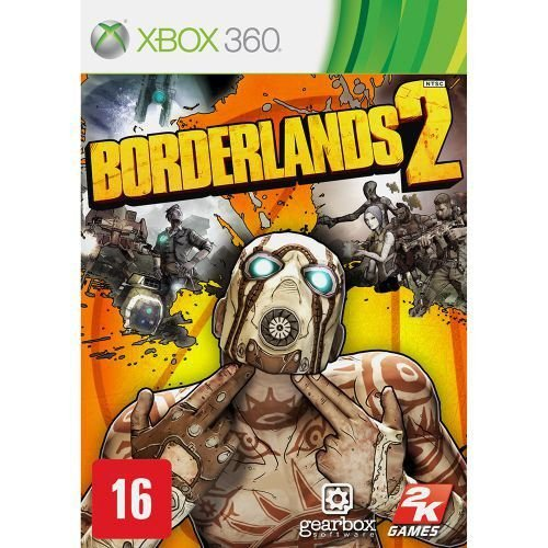BORDERLANDS 2 USADO (X360)