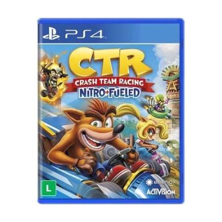 Crash Team Racing: Nitro Fueled - PS4